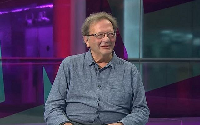 Larry Sanders, the brother of Democratic presidential hopeful Bernie Sanders, talks to British TV about his sibling on August 31, 2015. (screen capture: YouTube)