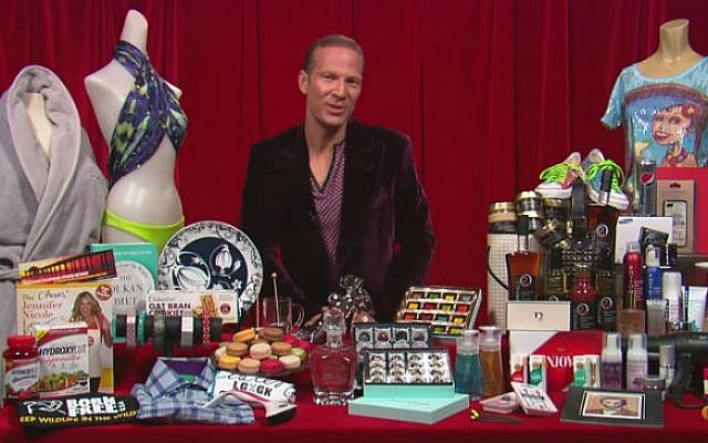 Hollywood gift guru Lash Fary presents the goody bags for the 2013 Oscars (screen capture: YouTube)
