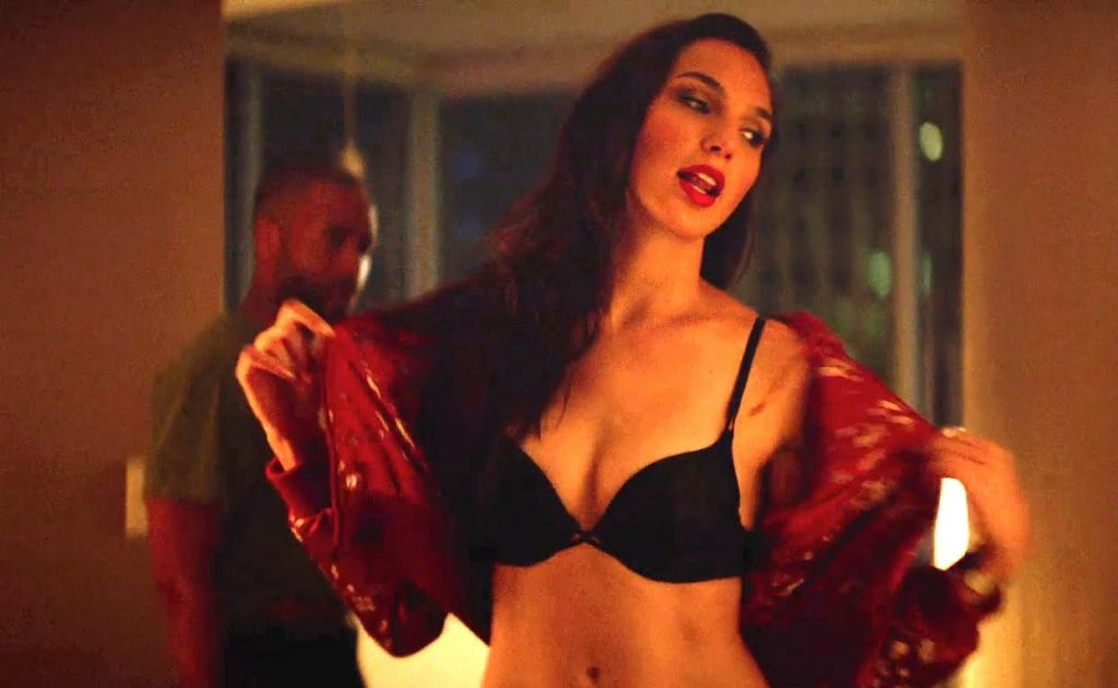 "Israeli actress Gal Gadot plays the sister of Kate Winslet's mobster in 'Triple 9,"" which opens in the US this February 26, 2016. (Open Road Films)"