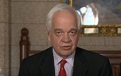 Canada's Immigration Minister John McCallum (screenshot: YouTube)