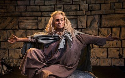 'The Testament of Mary' opened in Boston's New Repertory Theatre in January of 2016. Actress Paula Langton portrayed Mary in the one-woman show. (Andrew Brilliant/NRT)