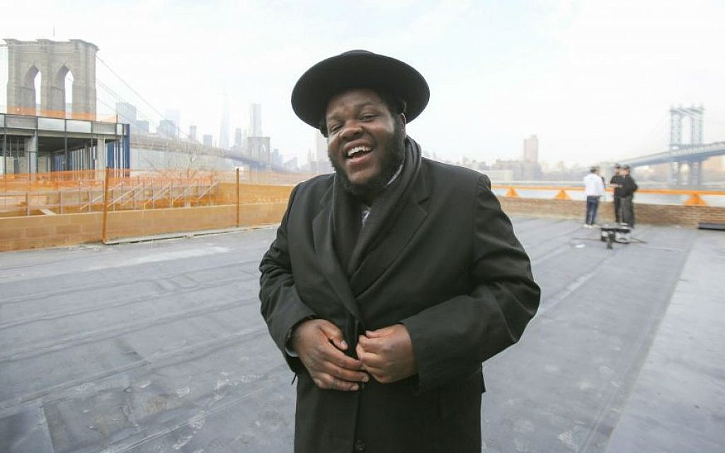 Rapper Nissim Baruch Black. 'When I came to Judaism I found the connection I had been looking for.' (Courtesy)