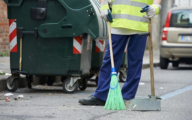 Many foreign workers are employed as cleaners (Shutterstock)