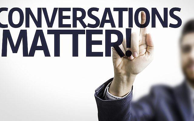 'Conversations Matter' ( image via Shutterstock)