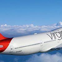 Illustrative: Virgin Atlantic airplane (Courtesy)