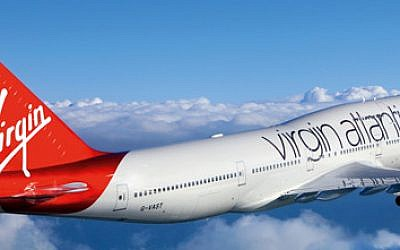 Illustrative: Virgin Atlantic airplane (Courtesy)