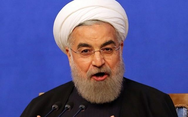Iranian President Hassan Rouhani speaks during a press conference on March 6, 2016 in the capital Tehran (AFP / ATTA KENARE)