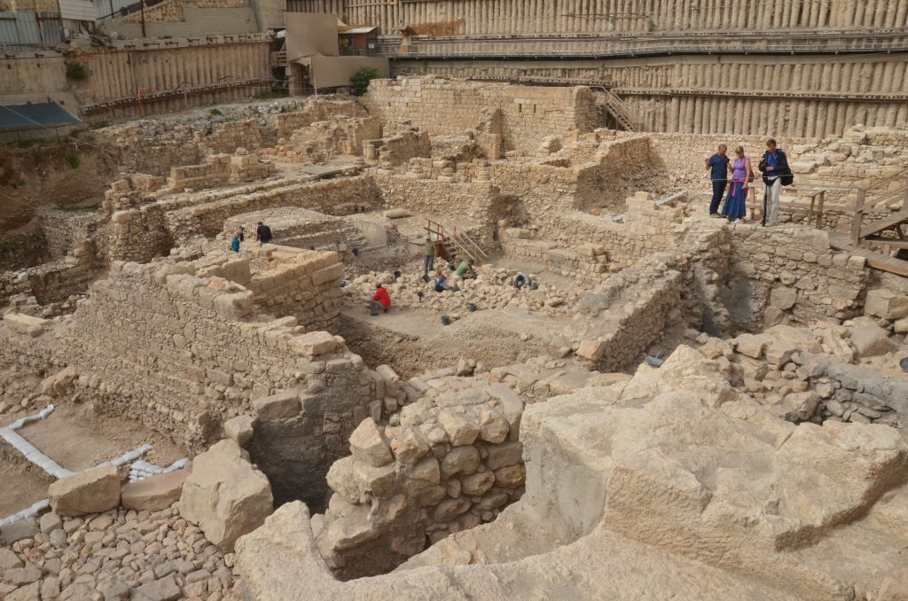 A General View Of The Site Israel Antiquities Authority