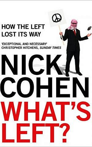 Cover of Nick Cohen's 'What's Left?' (courtesy)