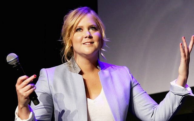 Amy Schumer has bowed out of the 'Barbie' movie due to scheduling conflicts. (Robin Marchant/Getty Images via JTA)