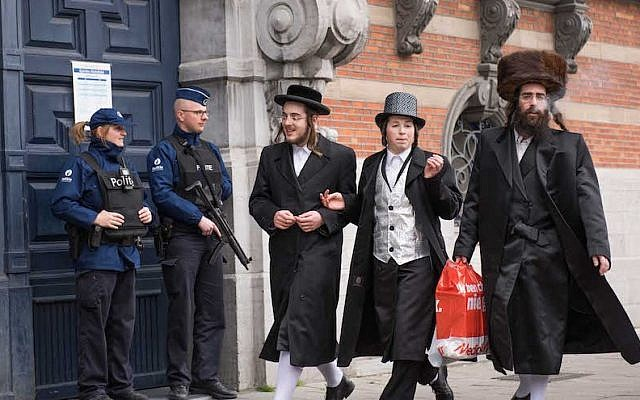 Amid reports of repeated security failures, many Belgian Jews feel their government is leaving them vulnerable. (Cnaan Liphshiz/JTA)