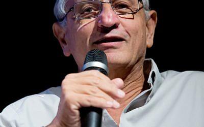 Israeli journalist Nahum Barnea. (Moshe Shai/Flash90)