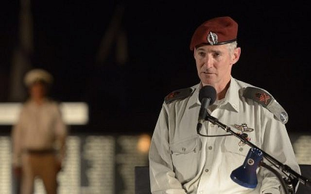 Deputy IDF Chief of Staff Yair Golan in August 2015 (Gefen Reznik/IDF Spokesperson)