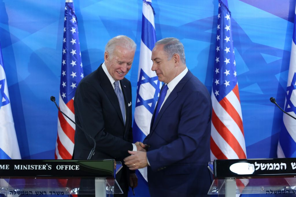 Israeli Prime Minister Netanyahu Has 'Warm Conversation' With Biden Who Pledges Support for Israel as 'Jewish and Democratic State'