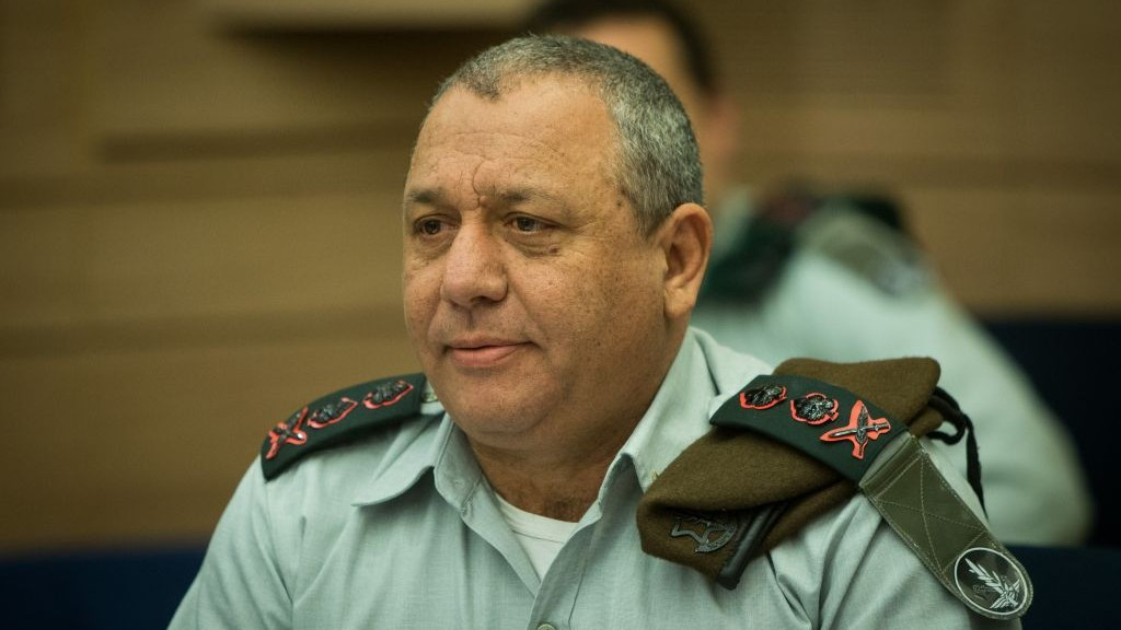 תוצאת תמונה עבור Chief of Staff Eisenkot