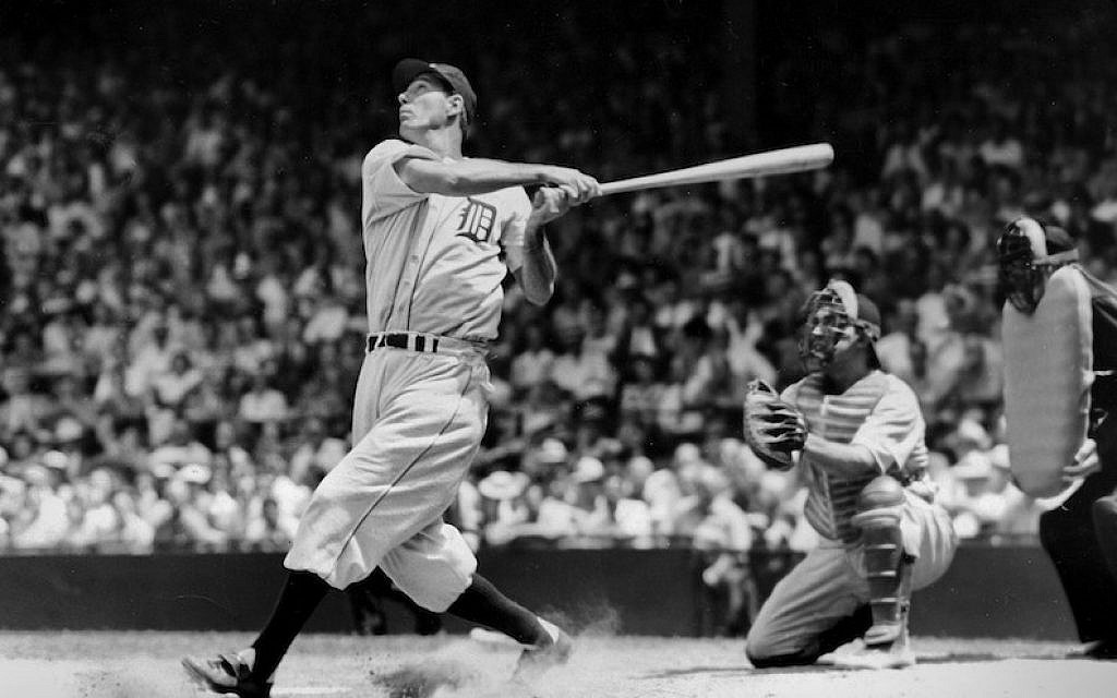 Hall of Famer Hank Greenberg batting for the Detroit Tigers in 1935. (TSN  Archives 7ea5a3f62