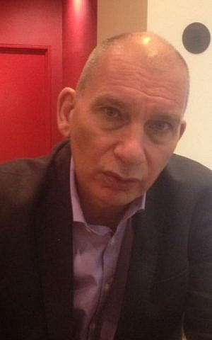Journalist Nick Cohen: 'Racism changes your perception of the world and yourself. You become what your enemies say you are.' (Jenni Frazer/The Times of Israel)