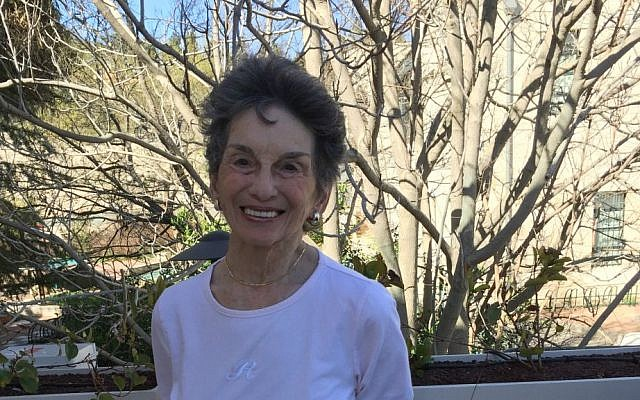 Renee Rabinowitz, the 81-year-old whose El Al experience helped create a lawsuit (Courtesy Jessica Steinberg)
