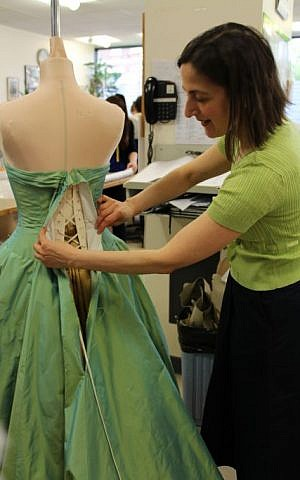 At the Angels Costumiers London-based workshop (courtesy)