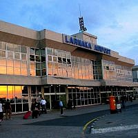 Larnaca International Airport, Cyprus. (Wikimedia Public Domain)