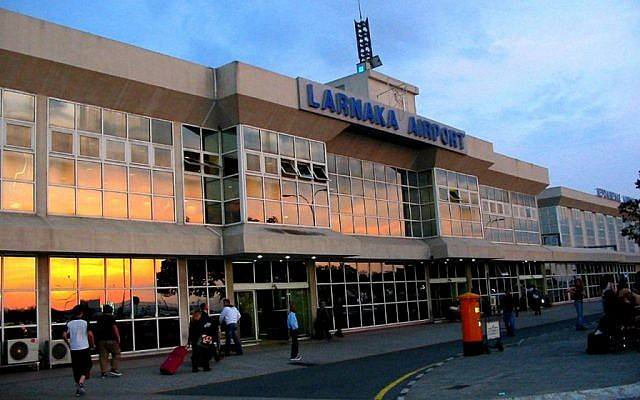 Larnaca International Airport, Cyprus. (Wikimedia Public Domain)