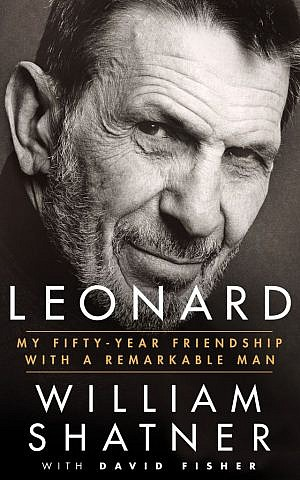 Leonard_Book Jacket_William Shatner