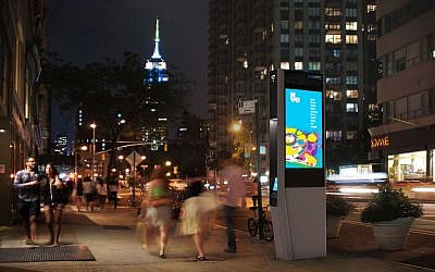 A LinkNYC Kiosk (Courtesy)
