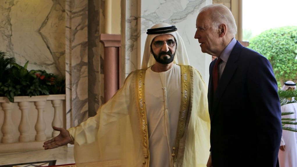 Sheikh Mohammed Bin Rashid Al Maktoum, the ruler of Dubai and UAE Vice  President receives
