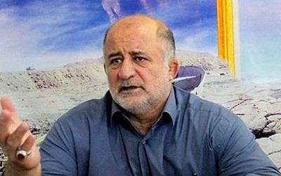 Iranian politician Nader Ghazipour (CC BY-SA tasnimnews, Wikimedia)
