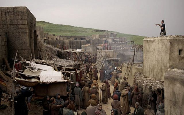 'Of Kings and Prophets' is filmed on location in Cape Town, South Africa (ABC/Trevor Adeline)