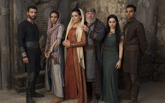 The cast of ABC's new series 'Of Kings and Prophets' (ABC/Trevor Adeline)