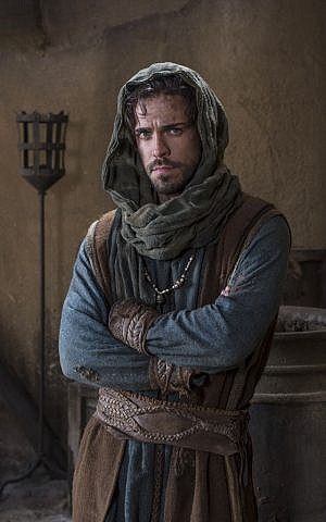 Olly Rix plays a young King David in 'Of Kings and Prophets' (ABC/Trevor Adeline)
