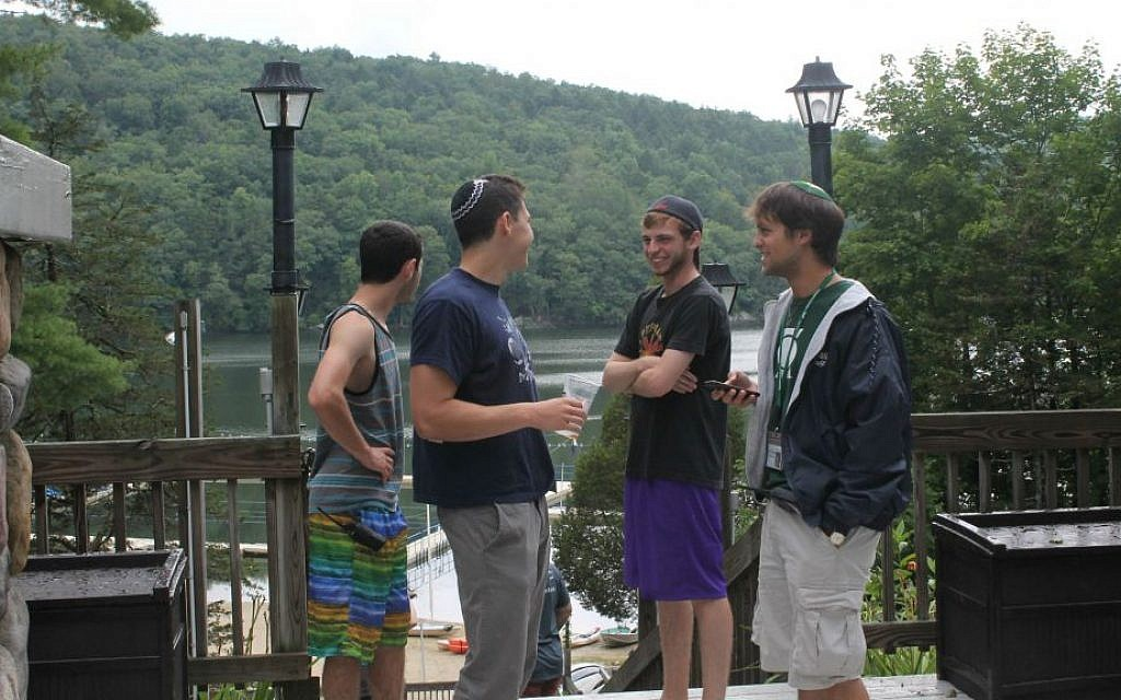 Judaism infuses everything at Ramah camps, from sports to art to the dining hall, campers and staff say. (Uriel Heilman/JTA)