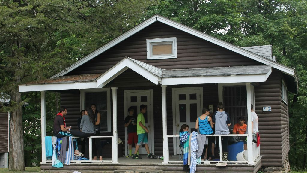 More than 750 campers and 300 counselors went to Camp Ramah in the Berkshires in the summer of 2015. (Uriel Heilman/JTA)