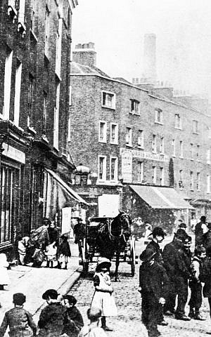 Morris Angel and Sons on London's Shaftesbury Avenue in the 19th century. (courtesy)