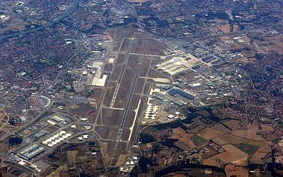 Aerial view of Toulouse–Blagnac Airport, southern France. (CC BY Hynek Moravec, Wikipedia)