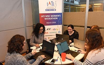 Participants in the IATI Women's Weekathon (Courtesy)