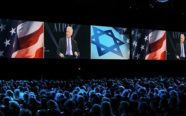 Some 16,000 people attended the three-day AIPAC 2015 policy conference in Washington, DC. (Courtesy of AIPAC)