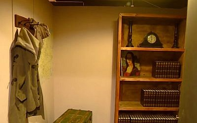 An Anne Frank-themed 'escape room' bunker in the town of Valkenswaard, 140 kilometers (87 miles) south of Amsterdam (YouTube screencap)