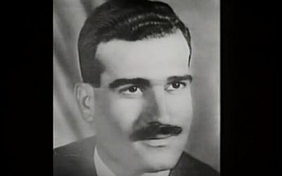 Mossad spy Eli Cohen, executed in Syria in 1965 (YouTube screenshot)