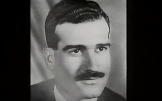 Mossad spy Eli Cohen, executed in Syria in 1965. (YouTube screenshot)