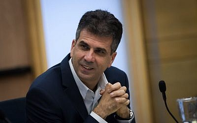 Kulanu party member MK Eli Cohen attends a committee meeting at the Knesset, November 02, 2015. (Miriam Alster/Flash90)