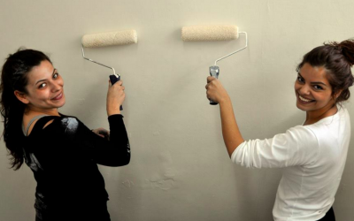Still looking for a good deed to do? House painters are needed in Hadera. (Courtesy Good Deeds Day 2016)