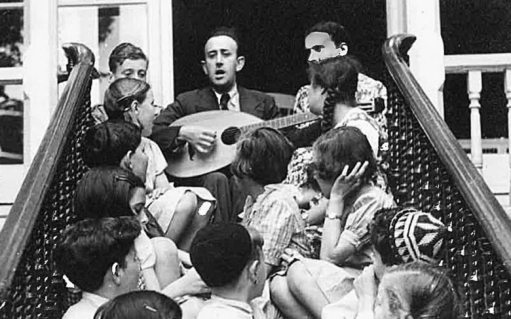 In 1938, the Schlesingers opened a hostel in London to care for Jewish children from Berlin (Courtesy)