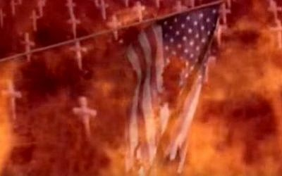 A North Korean propaganda video shows nuclear attack on Washington, DC (YouTube screenshot)