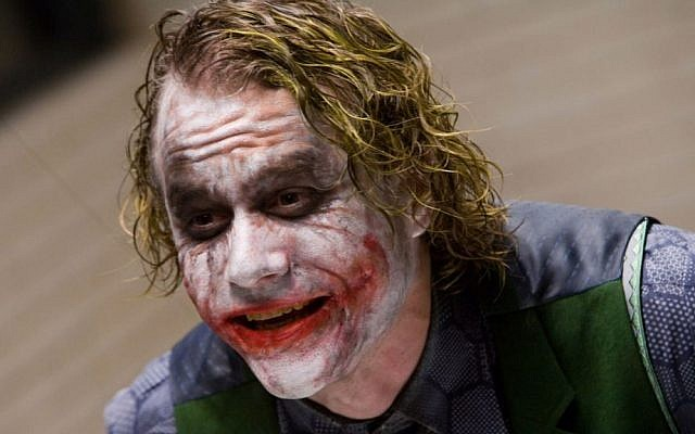 Heath Ledger as The Joker in The Dark Knight (Courtesy)