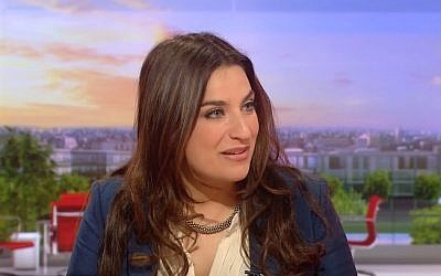 British Labour MP Luciana Berger (screen capture: YouTube)
