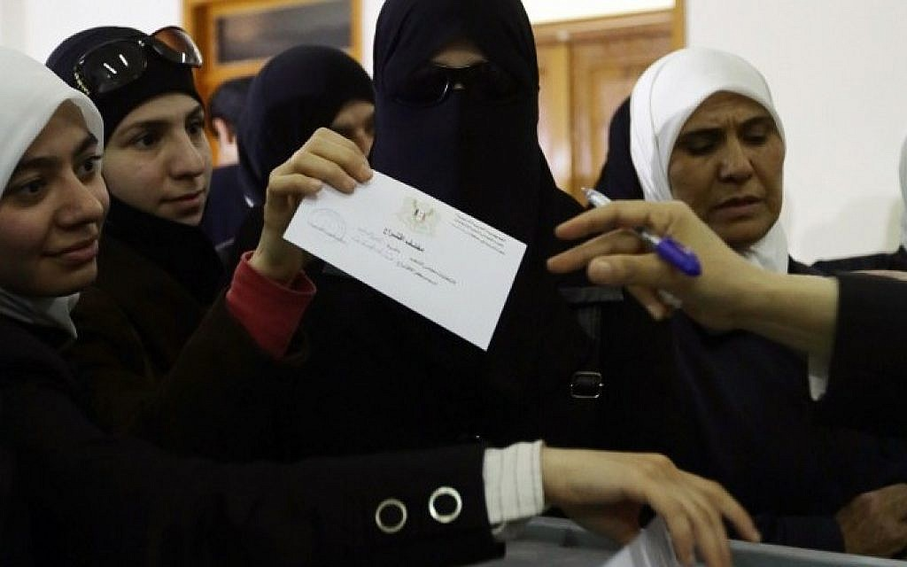 Assad's party sweeps Syrian elections, shocking no one