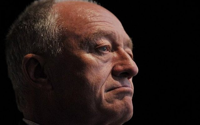This file photo taken on September 26, 2011 shows former mayor of London, Ken Livingstone, as he attends the second day of the annual Labour Party conference in Liverpool, north-west England. (AFP/Ben Stansall)