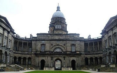 Edinburgh University. (Wikimedia Commons via JTA)